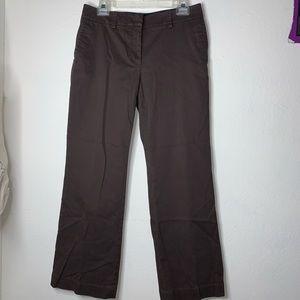 3/$20🔥Talbots brown signature flare pants
